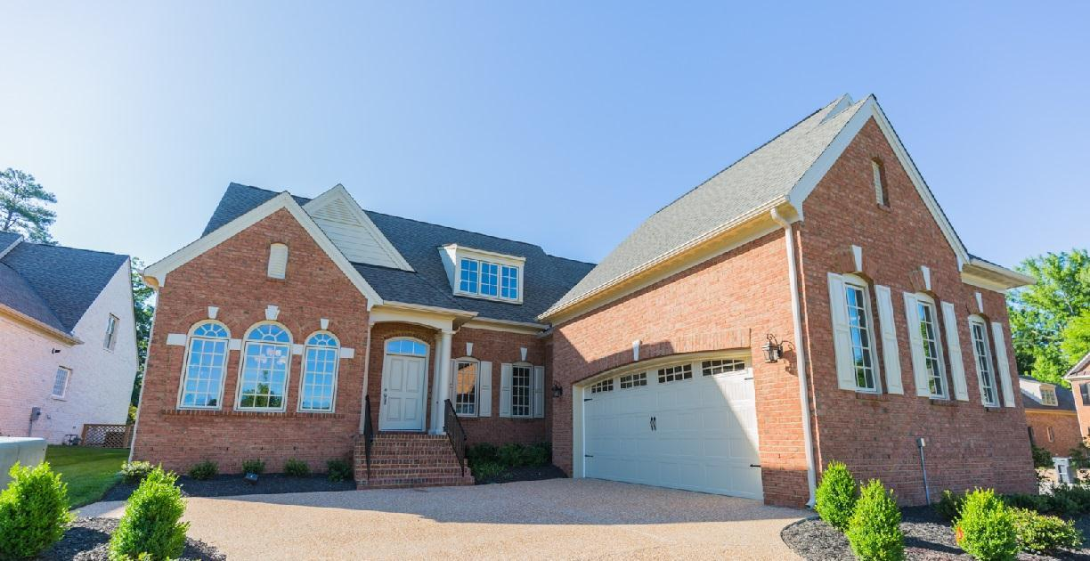 Exterior featured in the Hampworth II By Boone Homes, Inc. in Richmond-Petersburg, VA