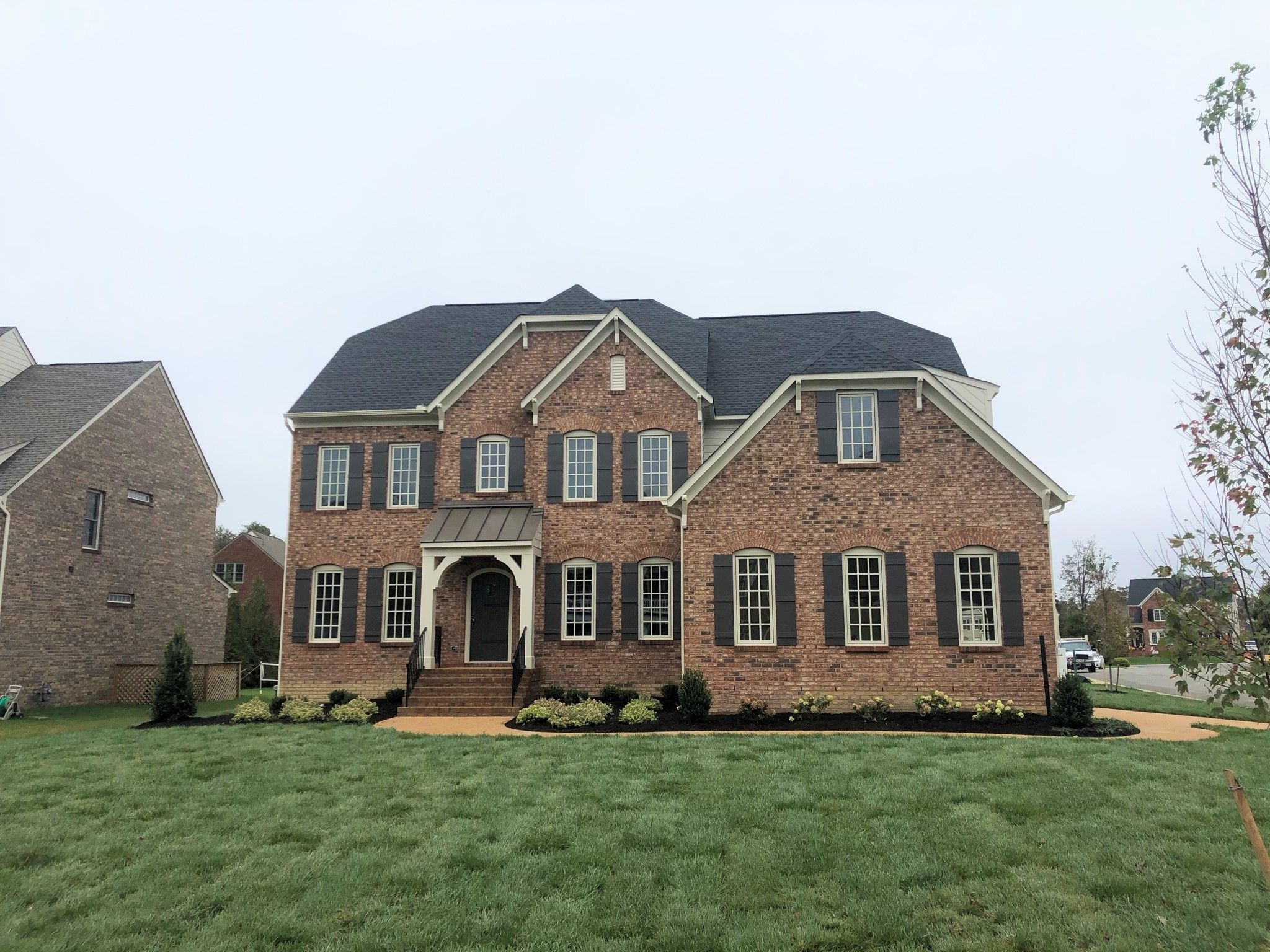 Exterior featured in the Creeksted By Boone Homes, Inc. in Richmond-Petersburg, VA