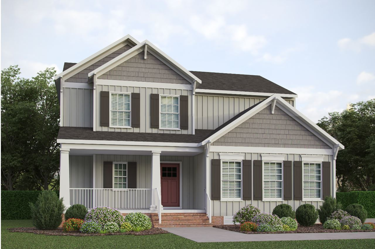 Exterior featured in the Palermo- Reed Marsh By Boone Homes, Inc. in Richmond-Petersburg, VA