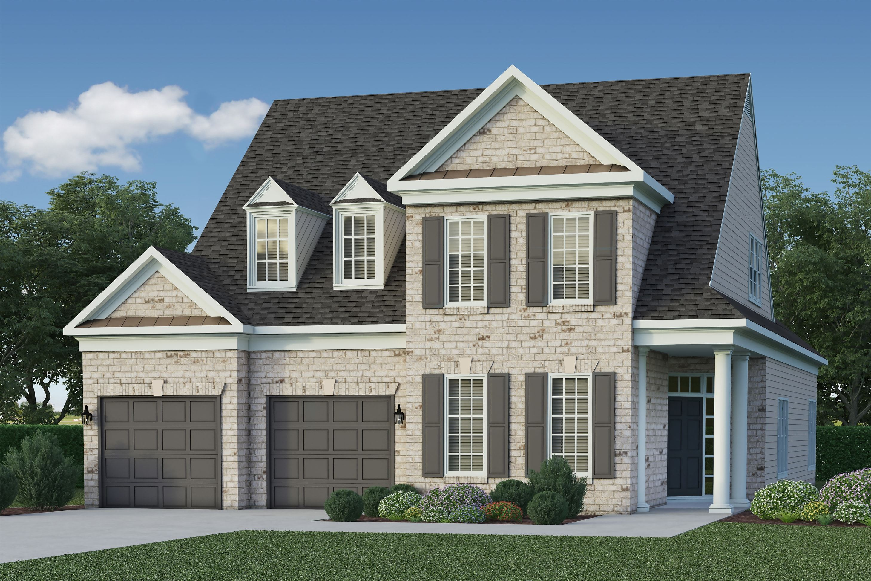 Exterior featured in the Ashmont - Chickahominy Falls By Boone Homes, Inc.