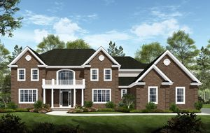 homes in The Estates at Waverly Place by Staats Farm Road Developers