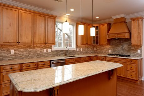 Kitchen-in-The Wakefield-at-The Estates at Waverly Place-in-Montgomery