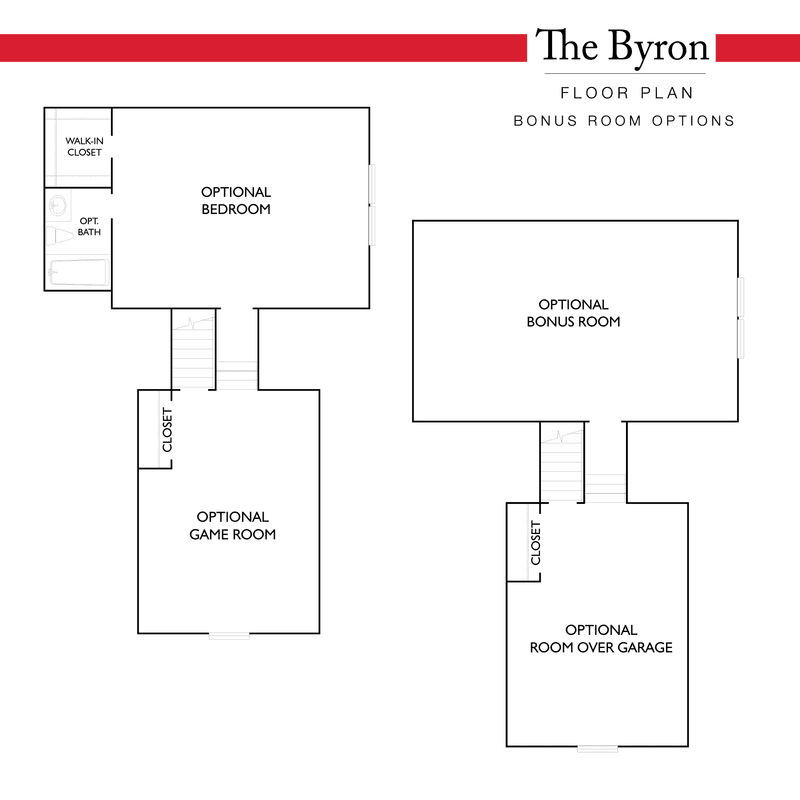 Bonus Room Options