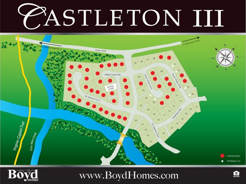Castleton III Site Map