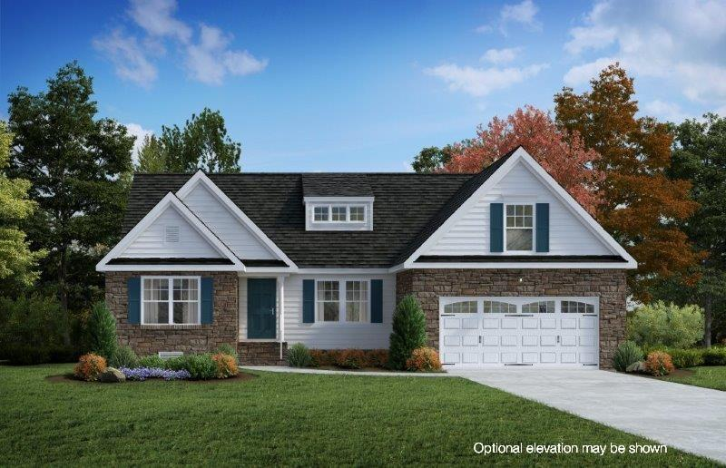 Exterior featured in The Chelsea  By Boyd Homes in Richmond-Petersburg, VA