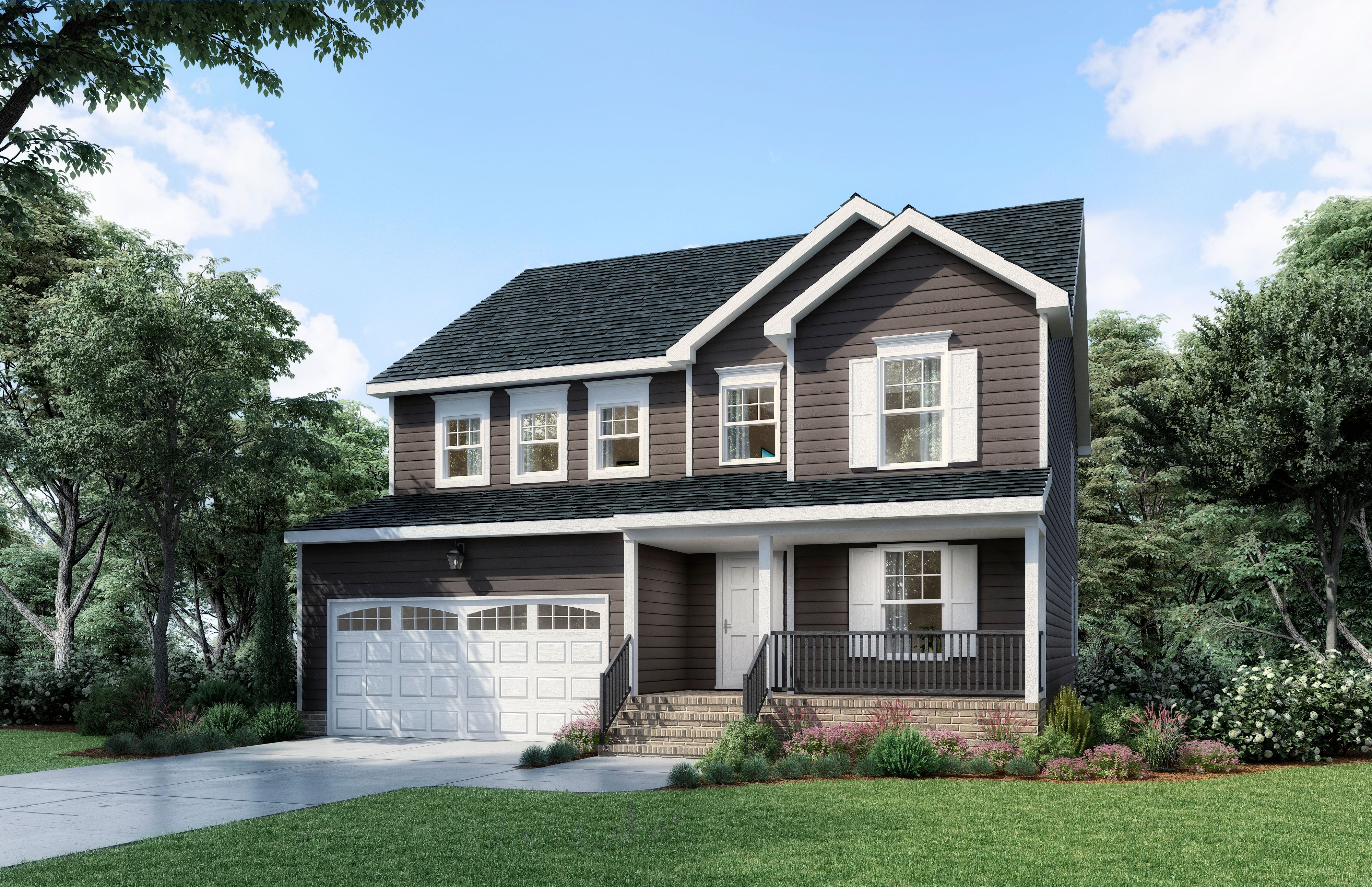 Exterior featured in The Elmsted 4 Bedroom By Boyd Homes in Richmond-Petersburg, VA