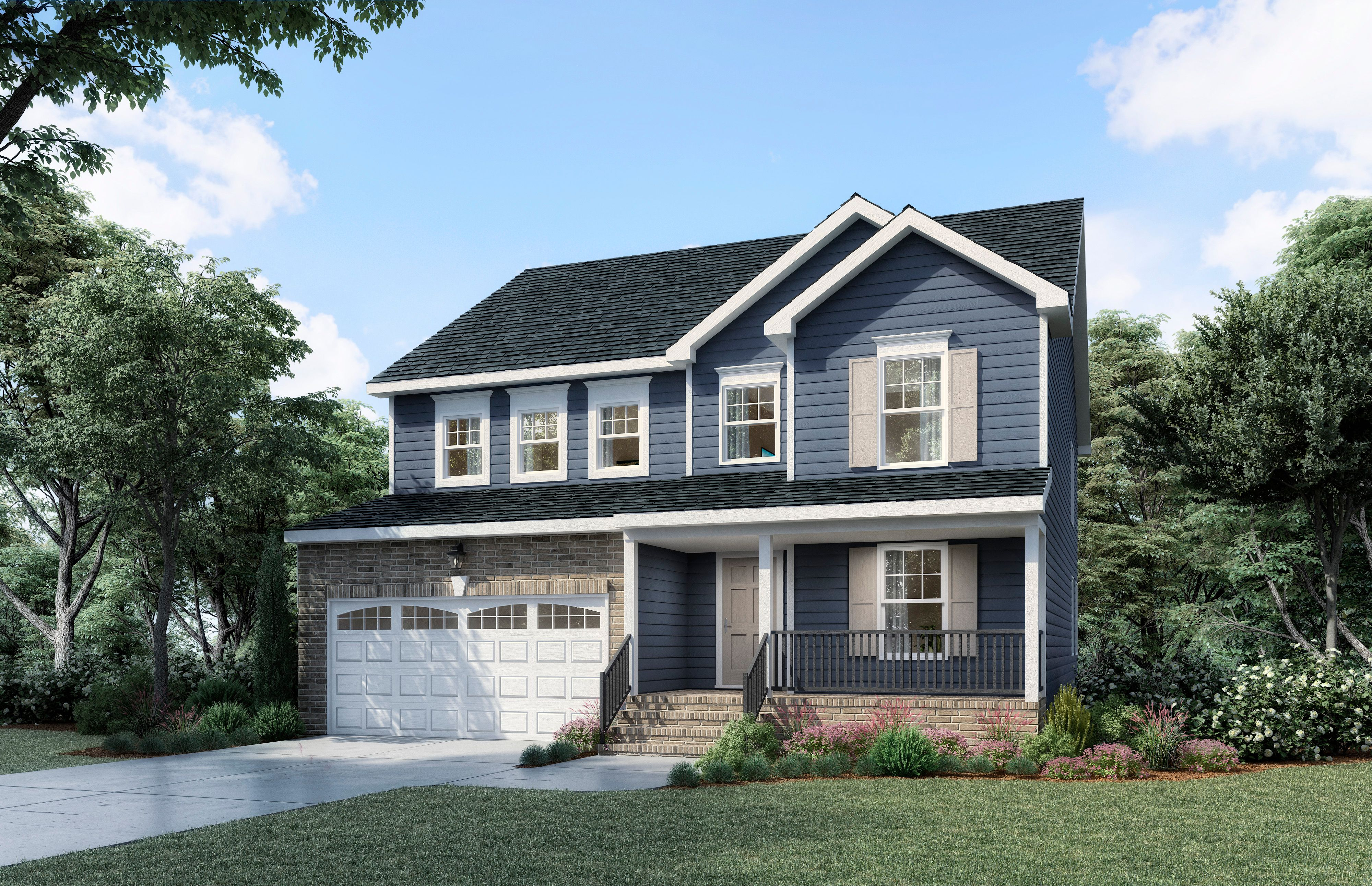 Exterior featured in The Elmsted 5 Bedroom By Boyd Homes in Richmond-Petersburg, VA