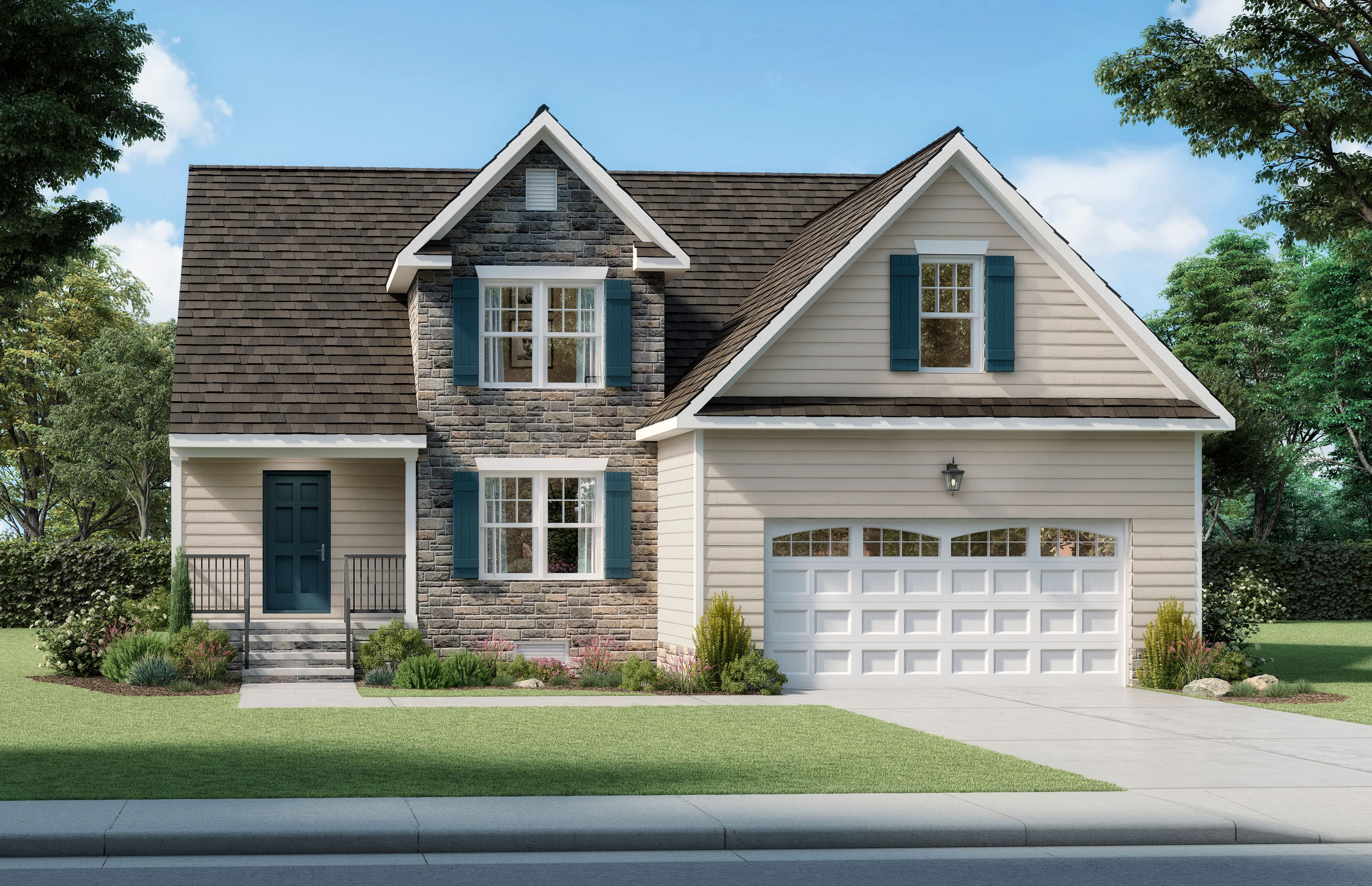 Exterior featured in The Randolph By Boyd Homes in Richmond-Petersburg, VA