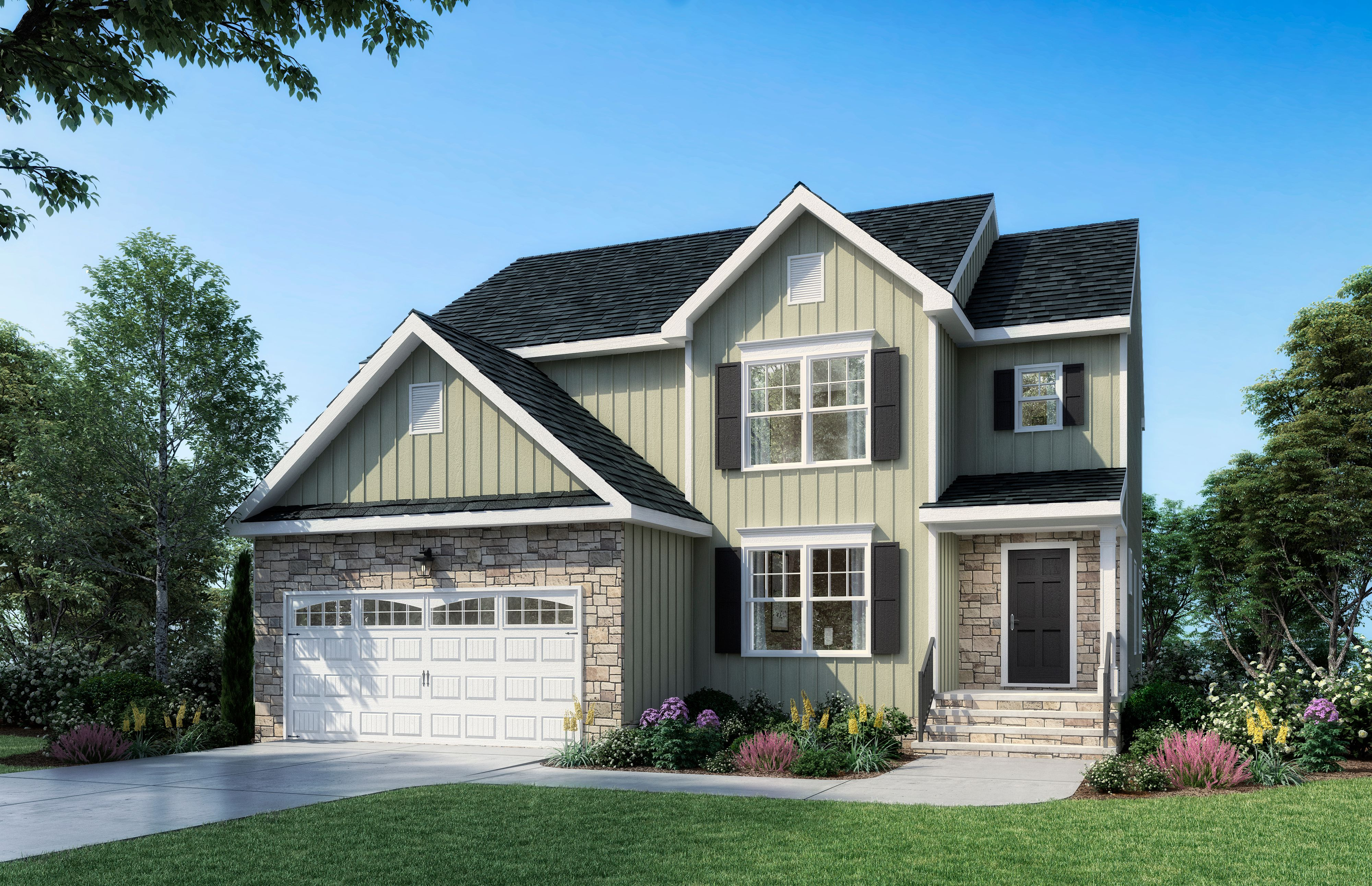 Exterior featured in The Willow By Boyd Homes in Richmond-Petersburg, VA