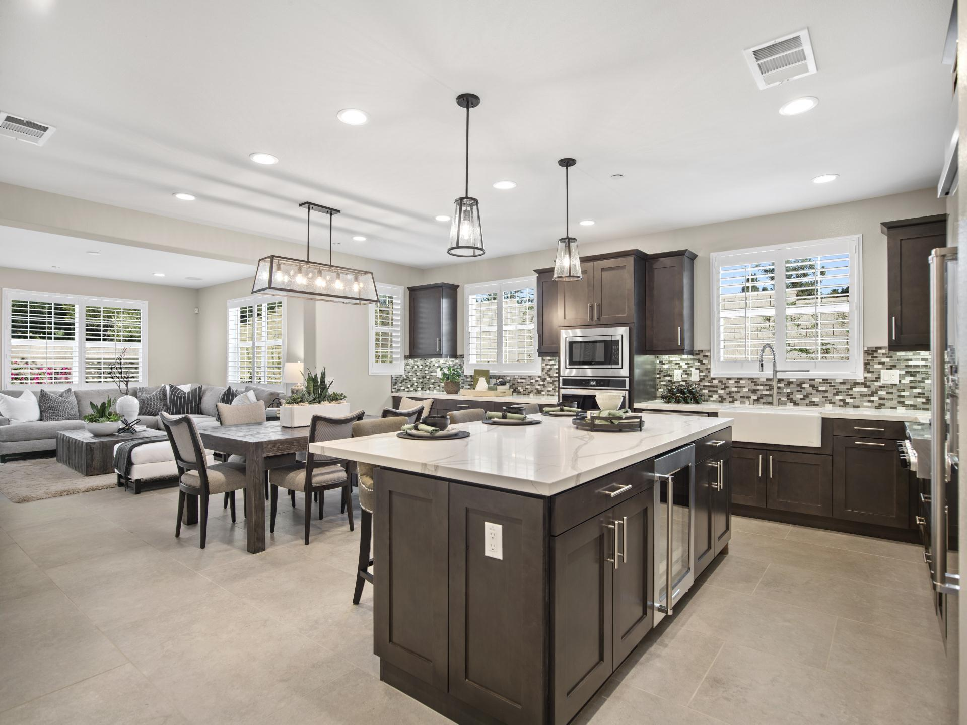 Kitchen featured in the Plan 2 By Brandywine Homes in Los Angeles, CA