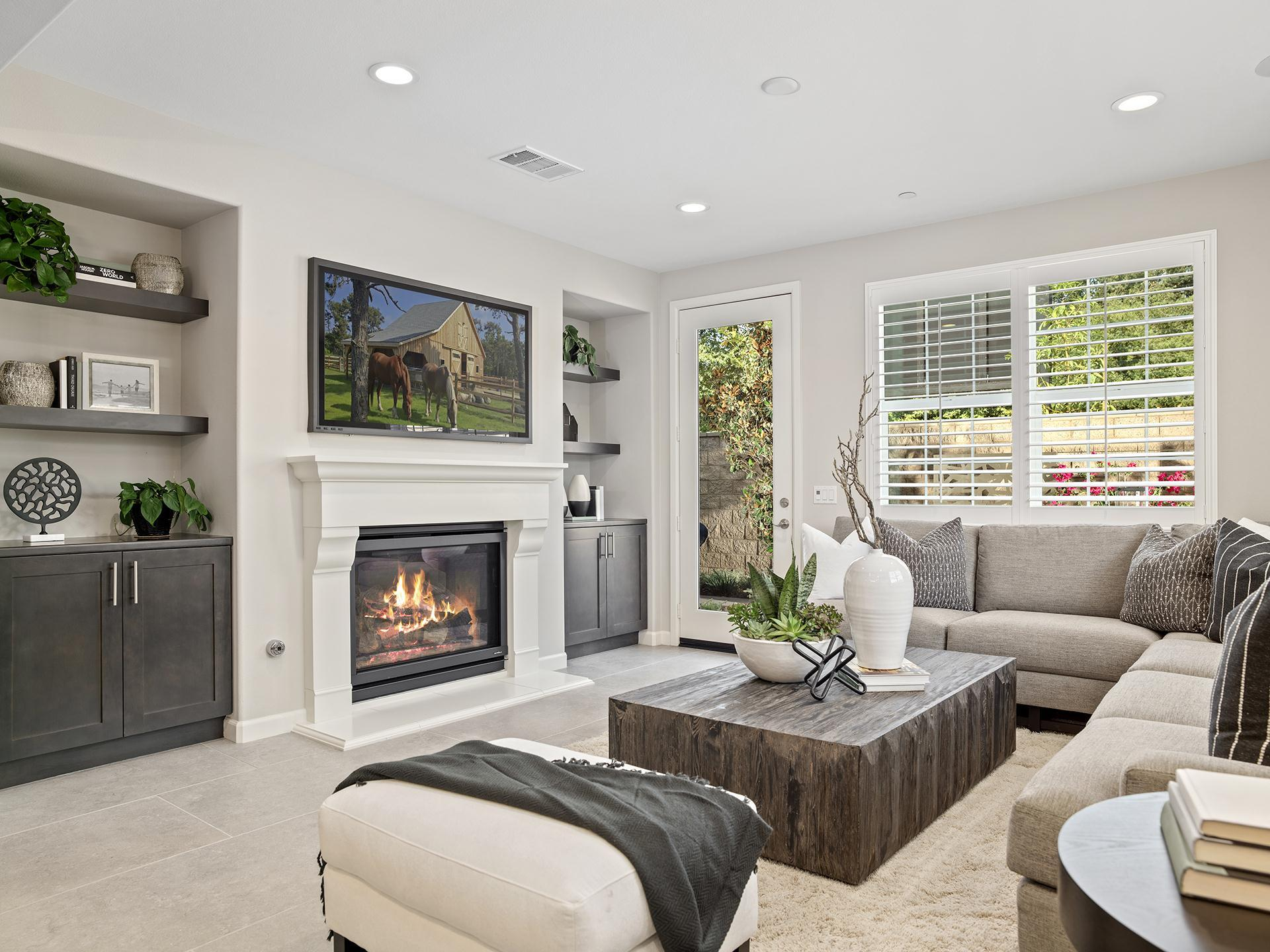Living Area featured in the Plan 2 By Brandywine Homes in Los Angeles, CA