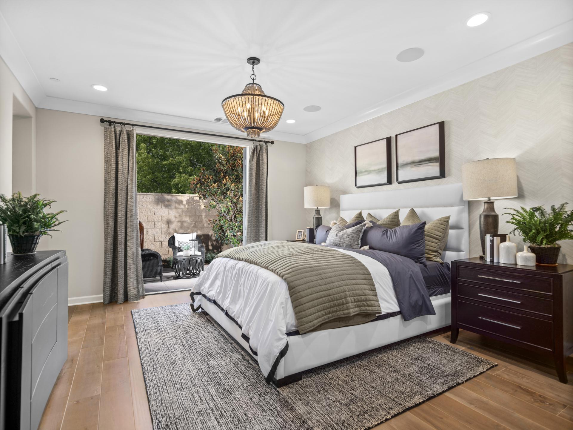 Bedroom featured in the Plan 2 By Brandywine Homes in Los Angeles, CA