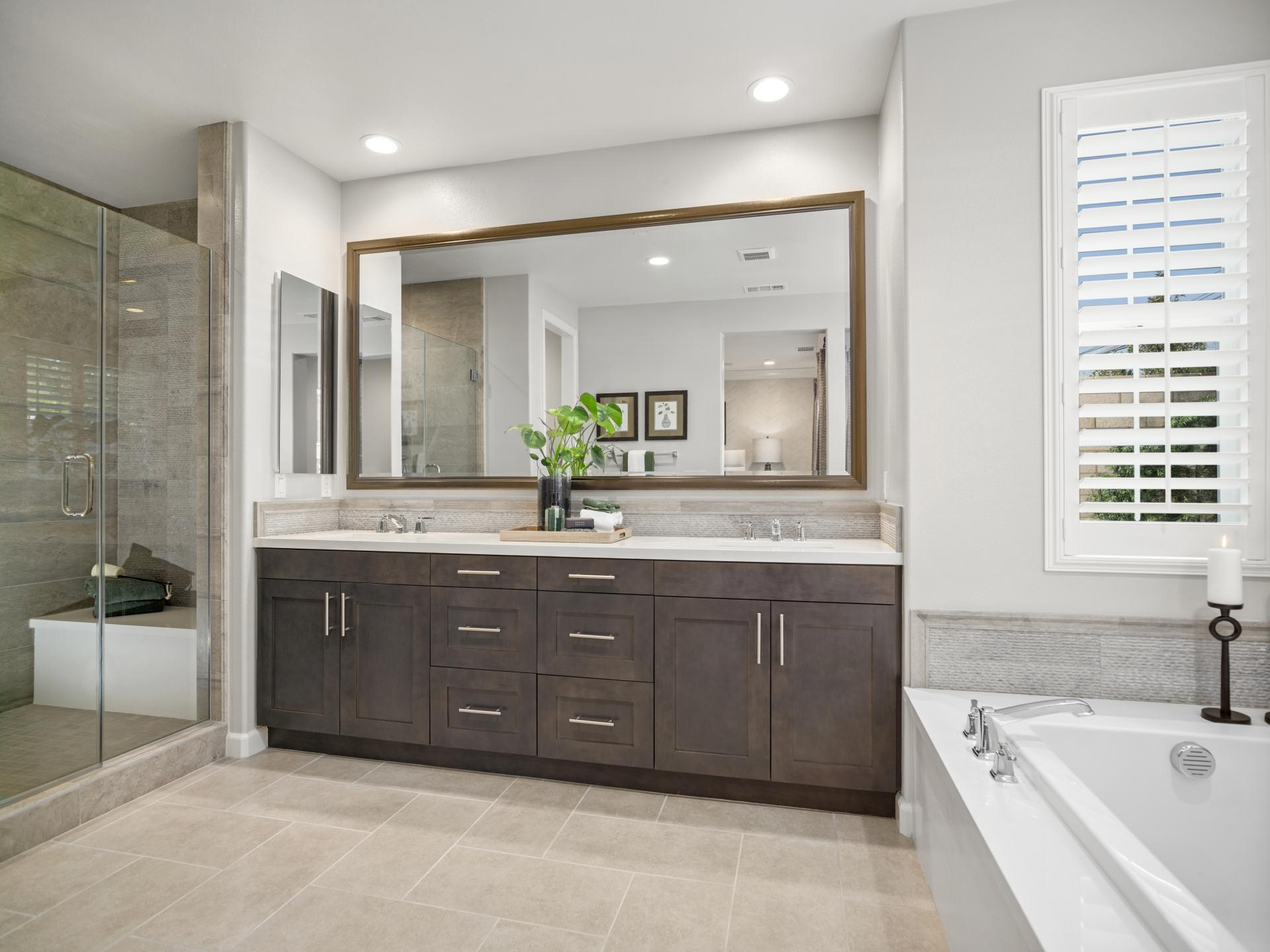 Bathroom featured in the Plan 2 By Brandywine Homes in Los Angeles, CA