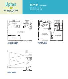 Plan 1A - Upton: Carson, California - Brandywine Homes