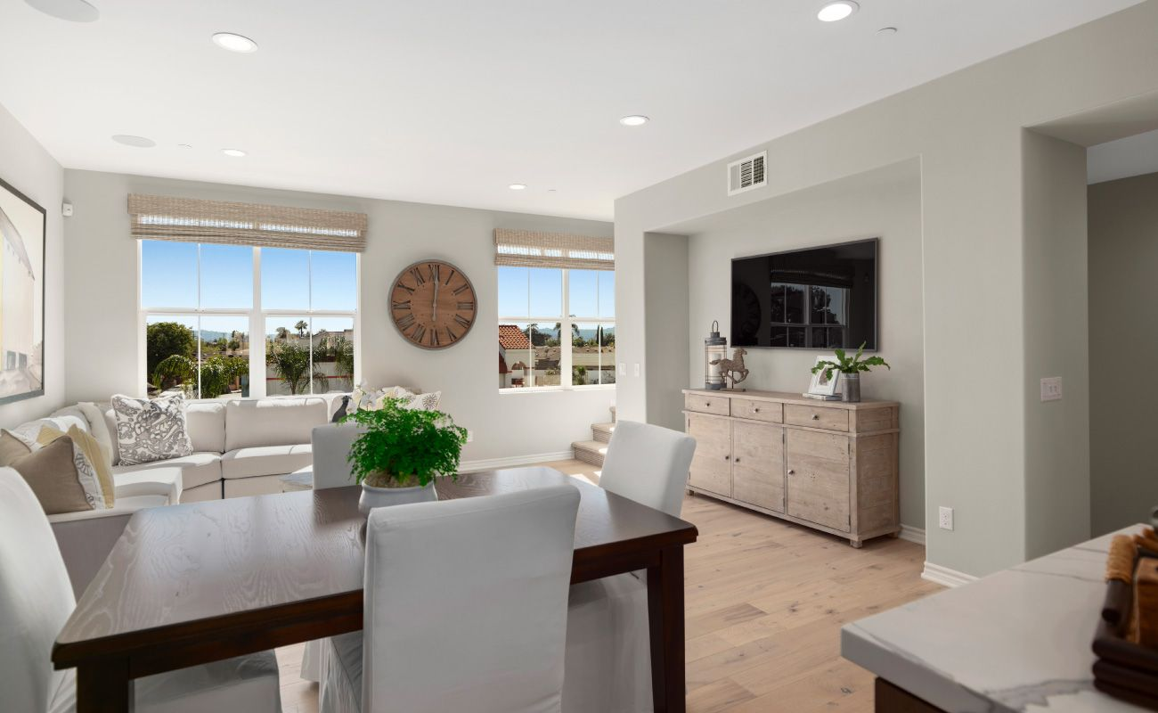 Living Area featured in the Plan 1 By Brandywine Homes in Orange County, CA