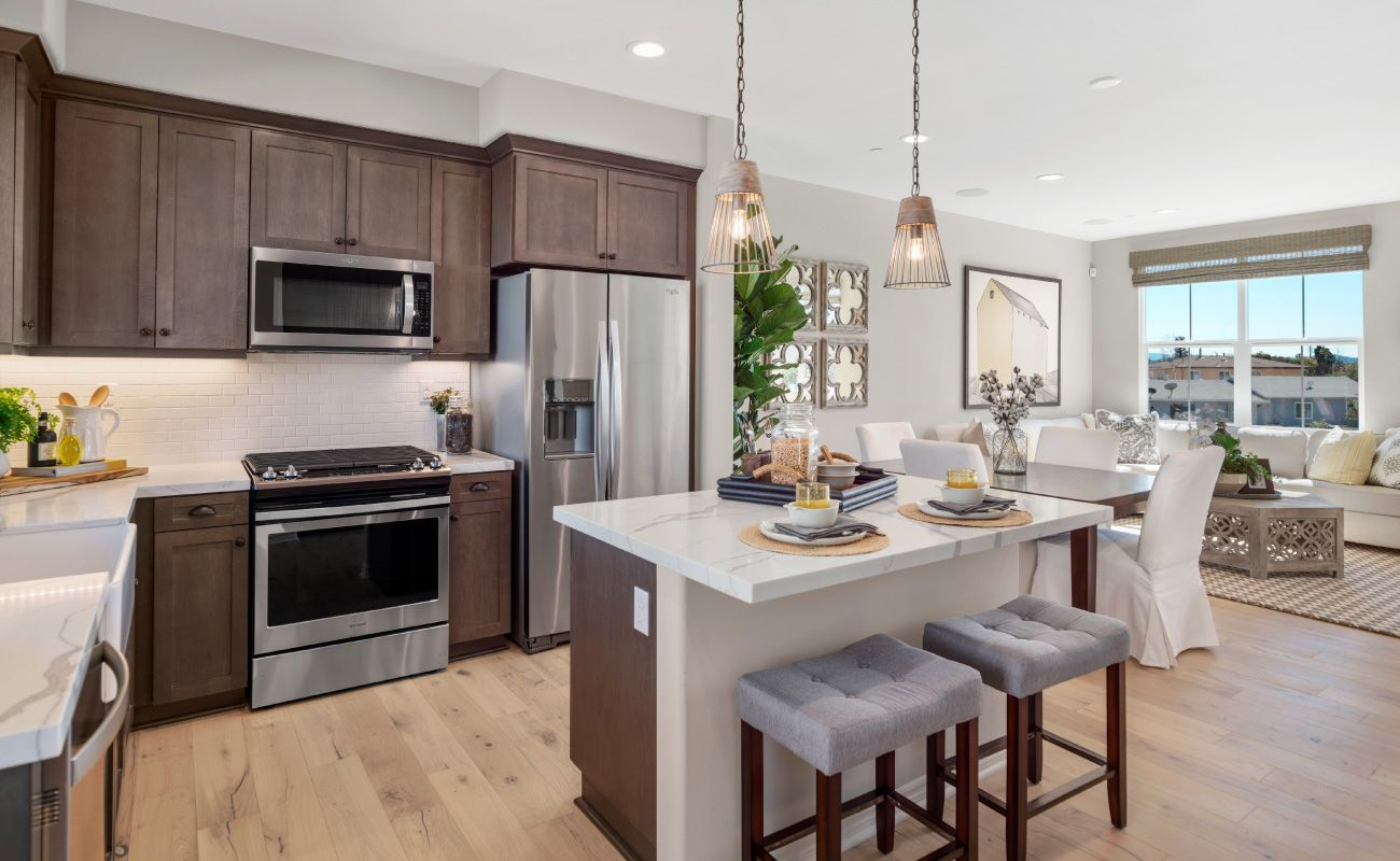 Kitchen featured in the Plan 1 By Brandywine Homes in Orange County, CA