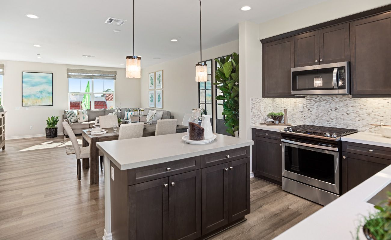 Kitchen featured in the Plan 2A By Brandywine Homes in Orange County, CA