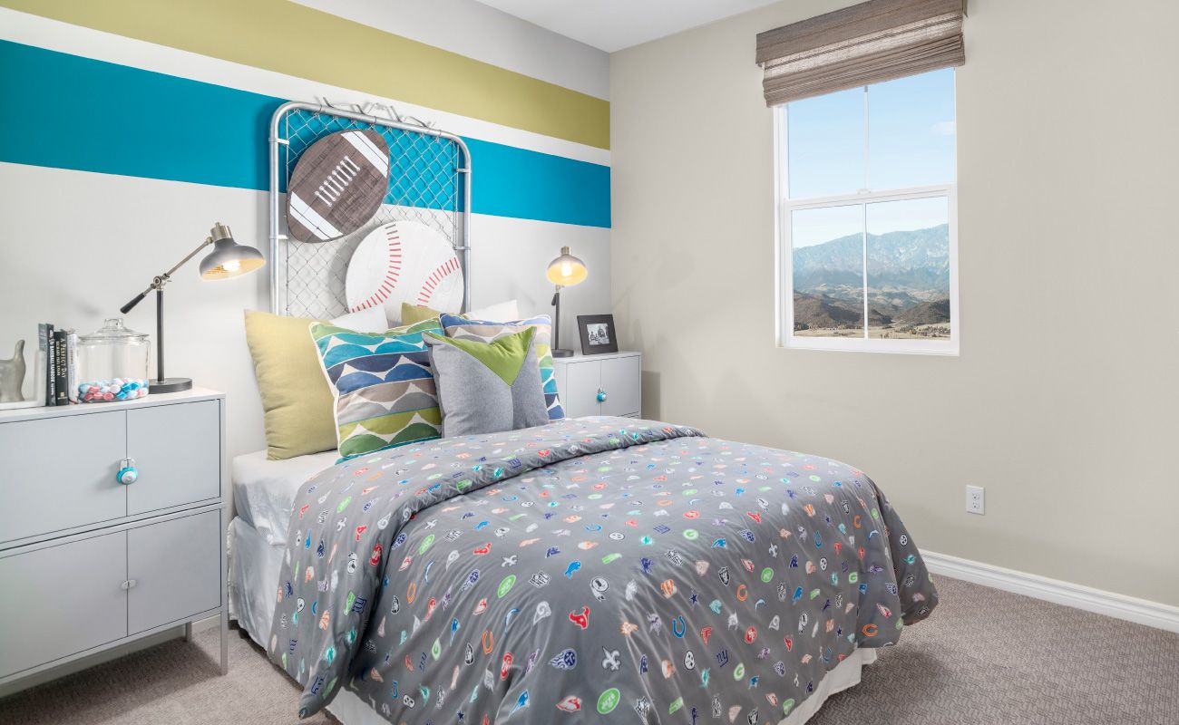 Bedroom featured in the Plan 2B By Brandywine Homes in Orange County, CA