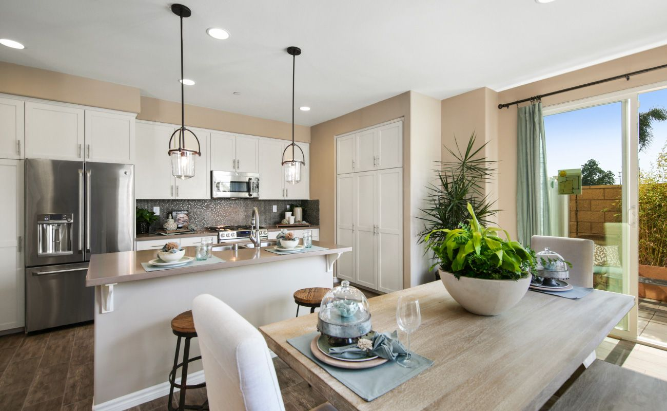 Kitchen featured in the Plan 3 By Brandywine Homes in Orange County, CA