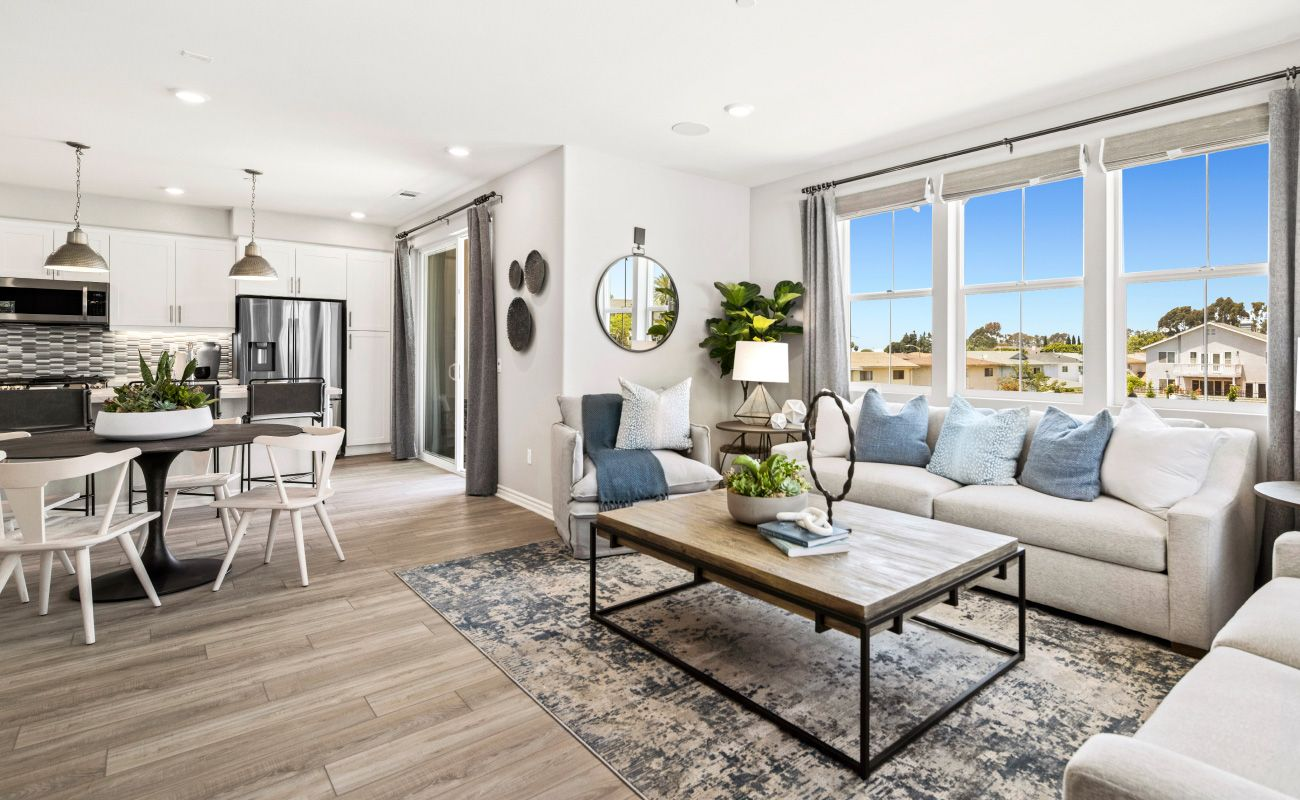 Living Area featured in the PLAN 3A By Brandywine Homes in Los Angeles, CA