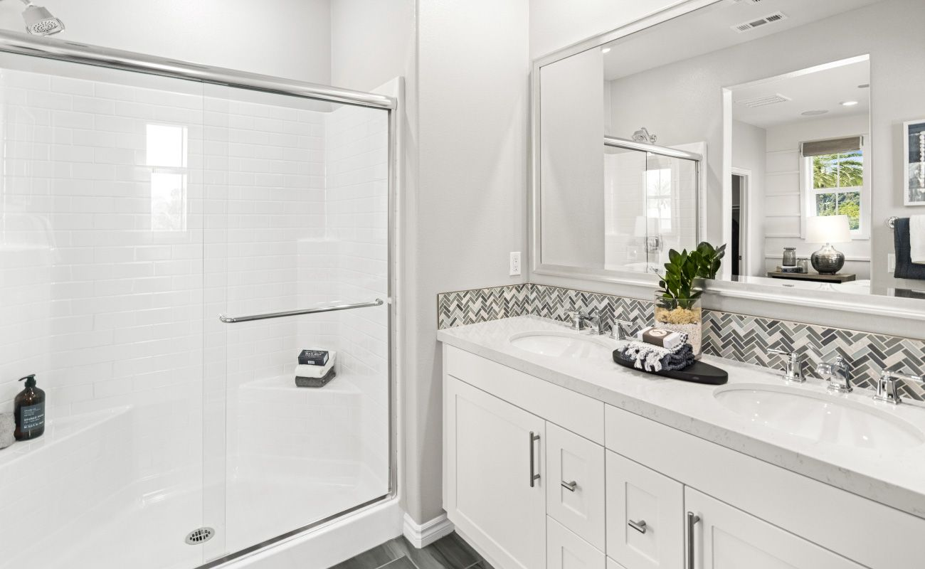 Bathroom featured in the PLAN 3A By Brandywine Homes in Los Angeles, CA