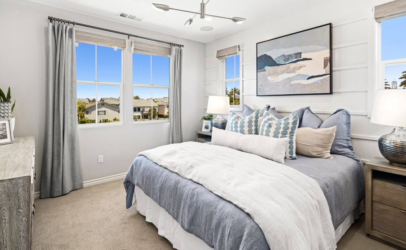 Bedroom featured in the PLAN 3A By Brandywine Homes in Los Angeles, CA