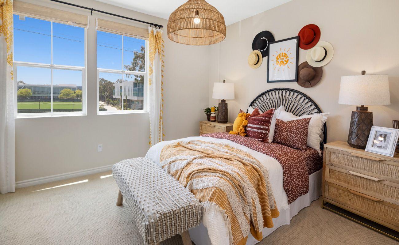 Bedroom featured in the PLAN 4B By Brandywine Homes in Los Angeles, CA