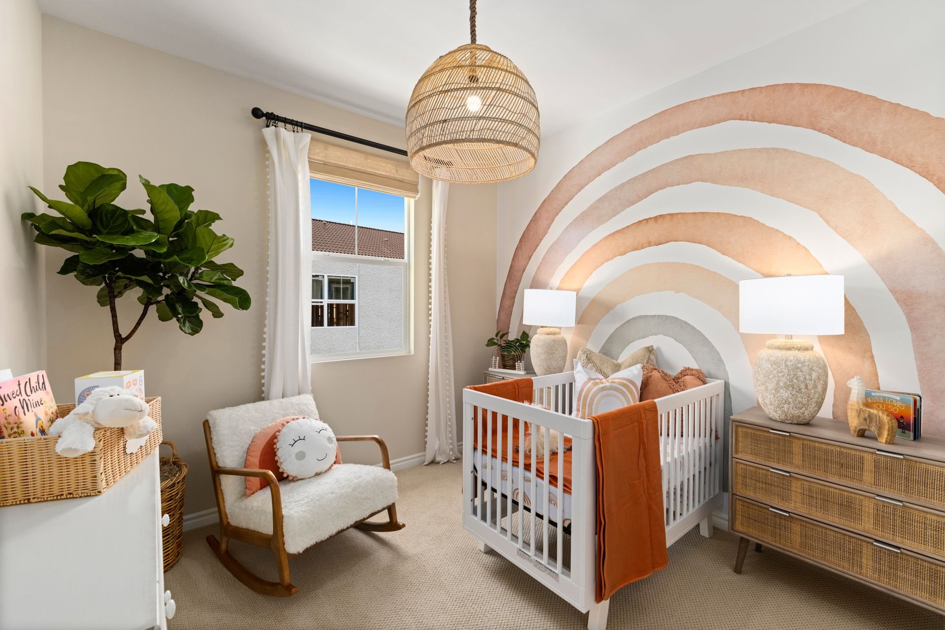 Bedroom featured in the Plan 2A By Brandywine Homes in Orange County, CA