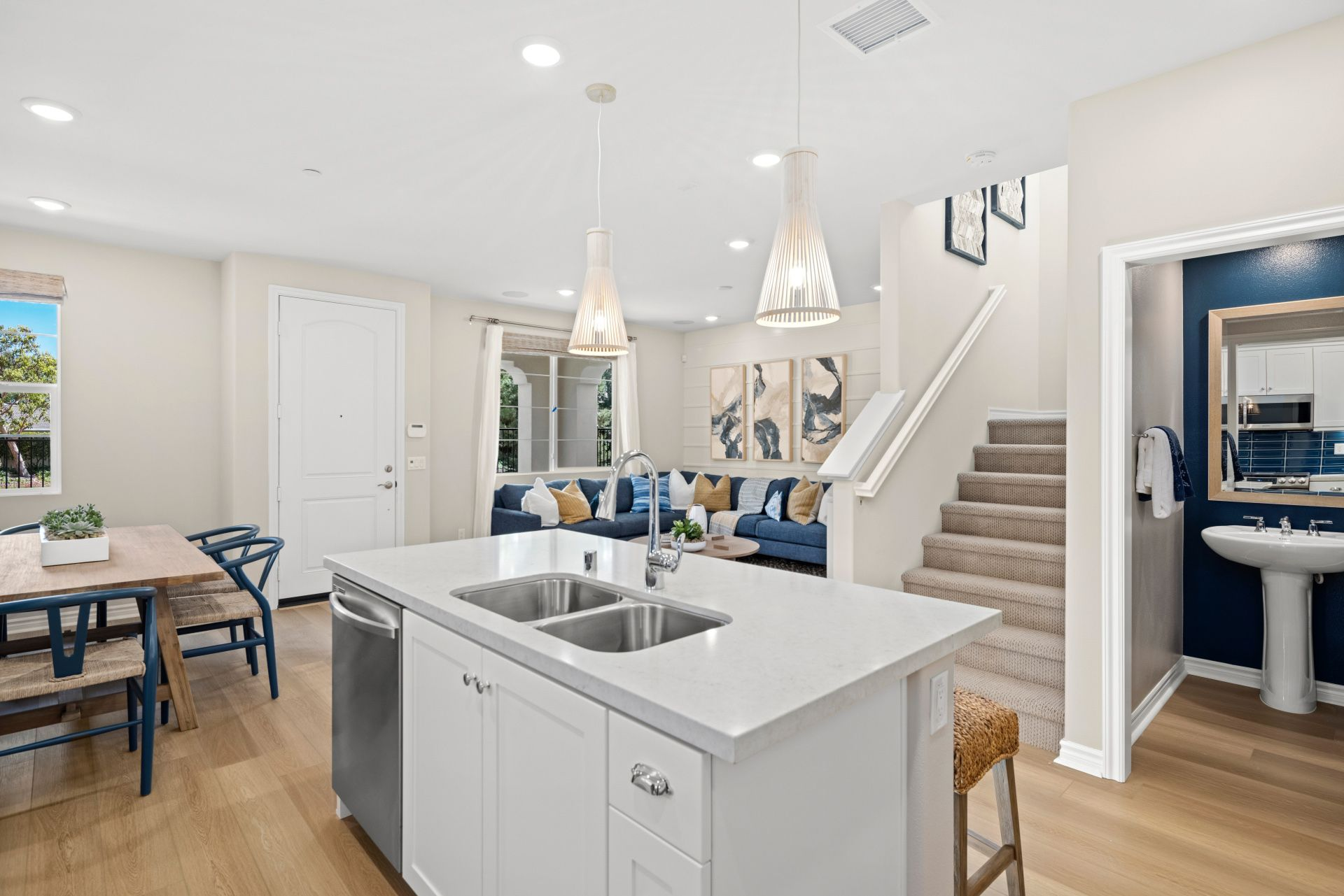 Kitchen featured in the Plan 2 By Brandywine Homes in Orange County, CA