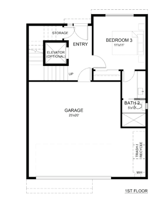 Residence 1 Home A1:First Floor