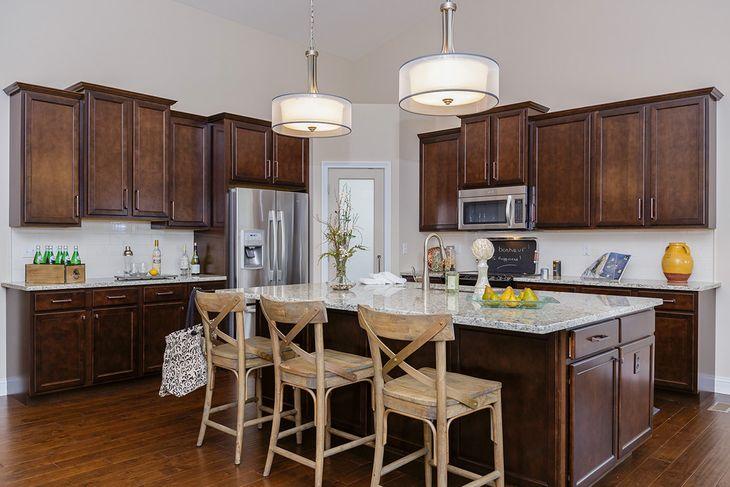 Island Kitchen:Warson plan