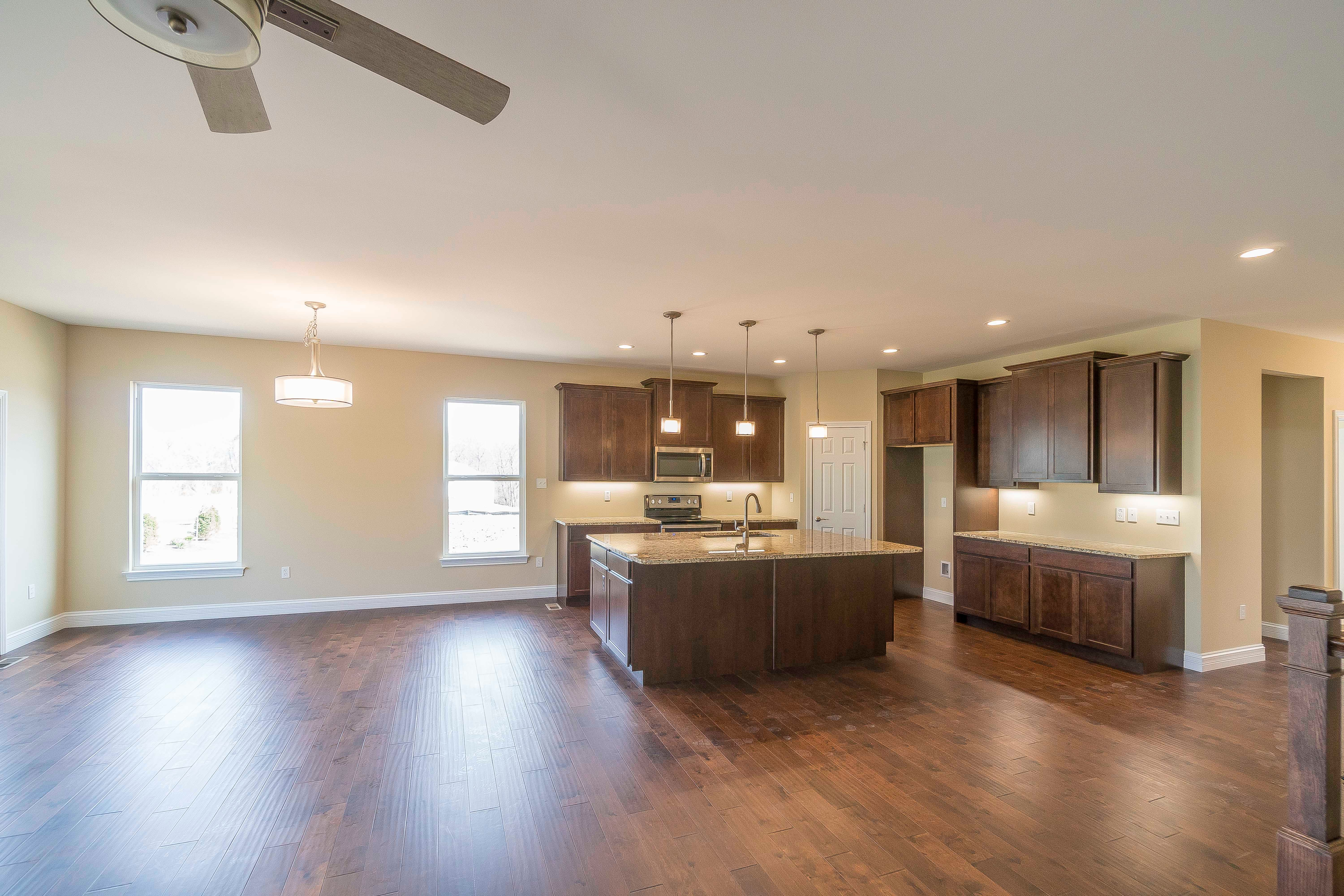Kitchen featured in the Warson By Bridgewater Communities, Inc. in St. Louis, MO
