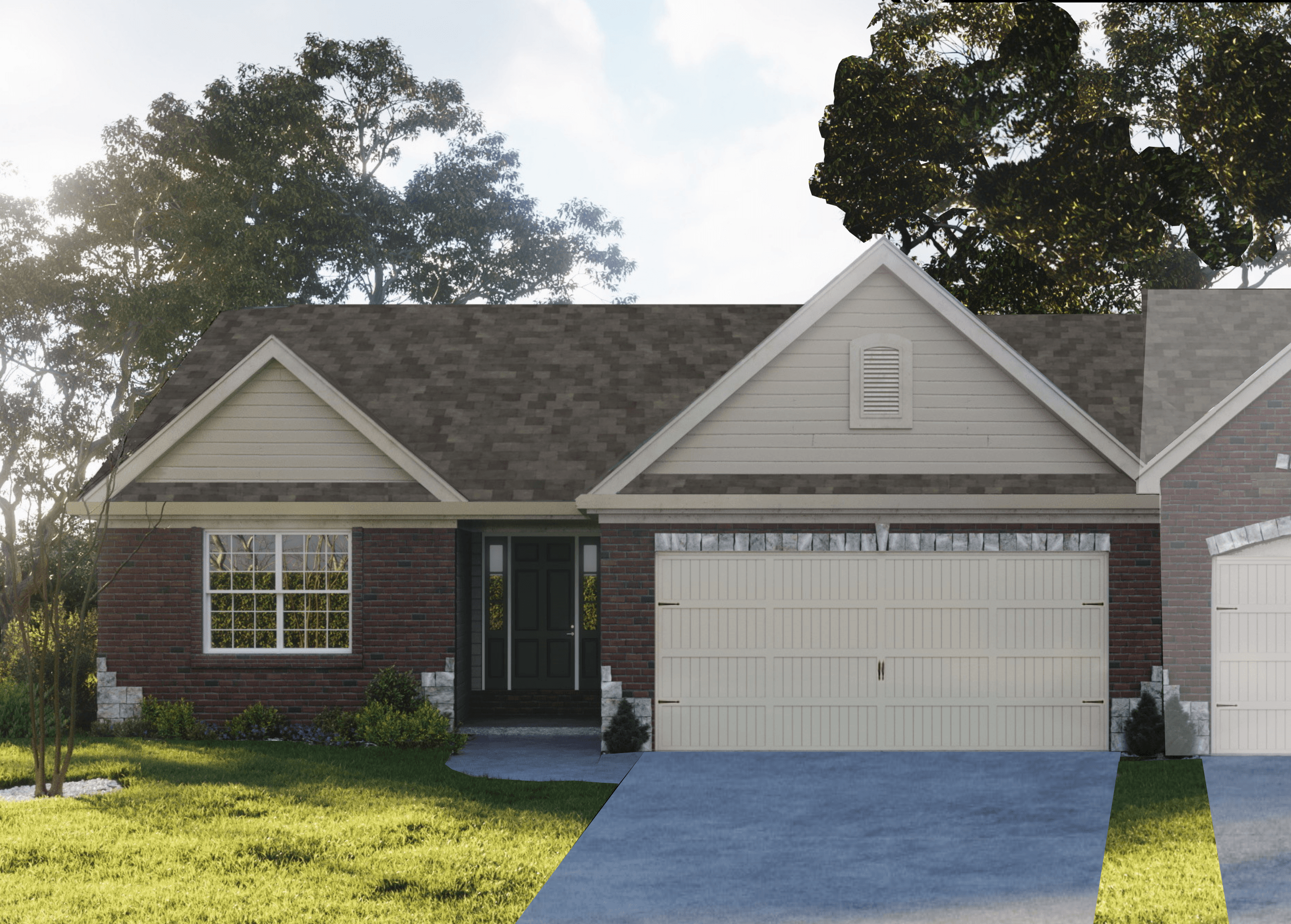 Exterior featured in the Mcknight Attached By Bridgewater Communities, Inc. in St. Louis, MO