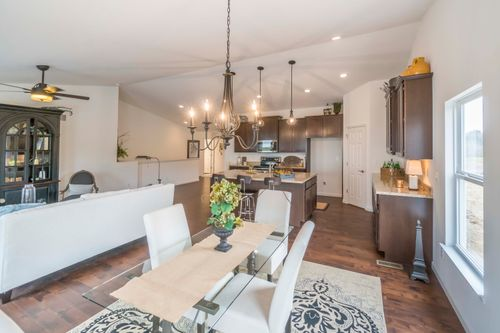 Kitchen-in-Clayton Attached-at-Villas at River Crossing-in-Washington