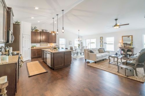 Greatroom-and-Dining-in-Clayton Attached-at-Villas at River Crossing-in-Washington