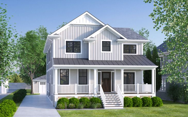 4436 Gilbert Ave:Front Elevation