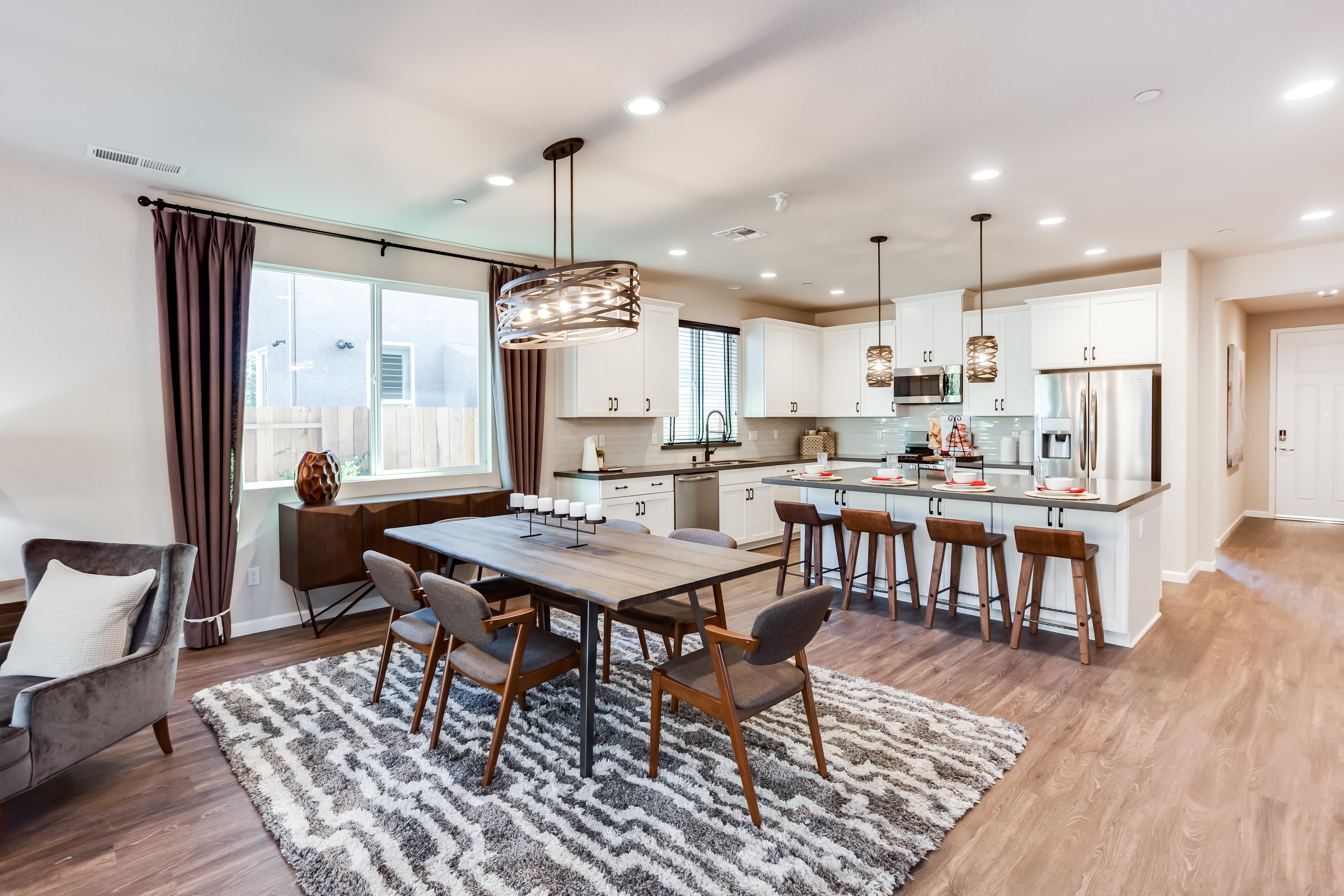Living Area featured in the Residence Two By Bright Homes in Merced, CA