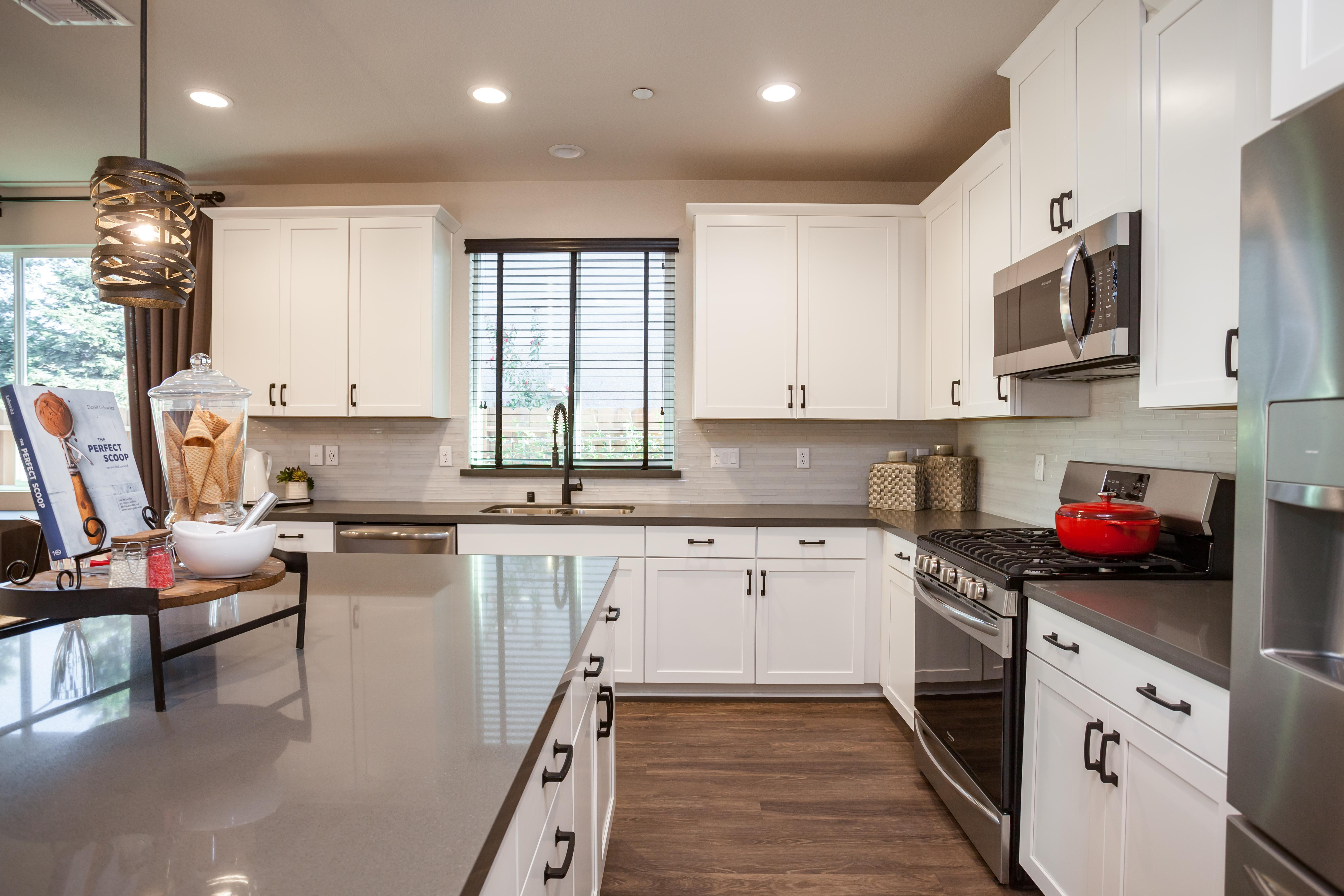 Kitchen featured in the Residence Two By Bright Homes in Merced, CA