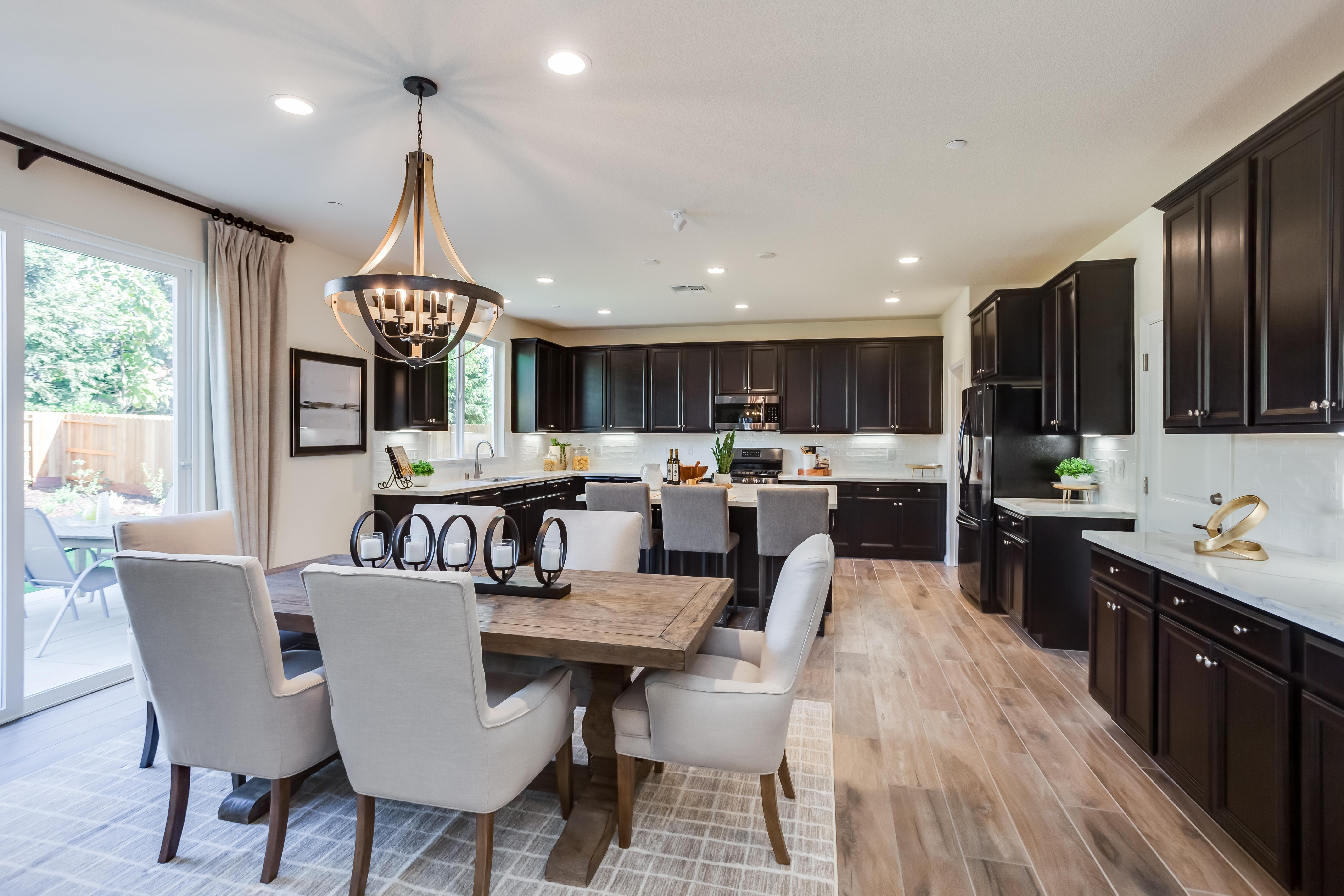 Kitchen featured in the Residence Four By Bright Homes in Merced, CA
