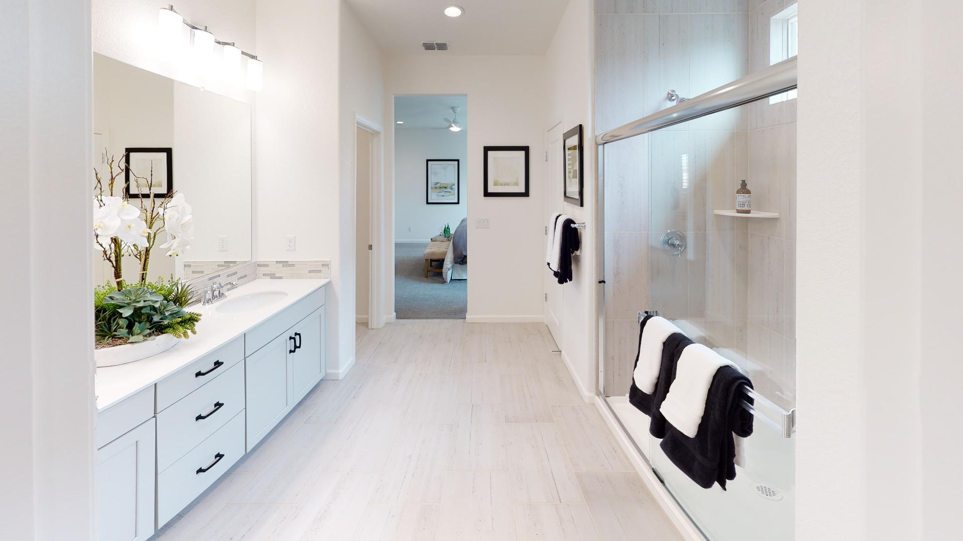 Bathroom featured in the Residence Three By Bright Homes in Merced, CA