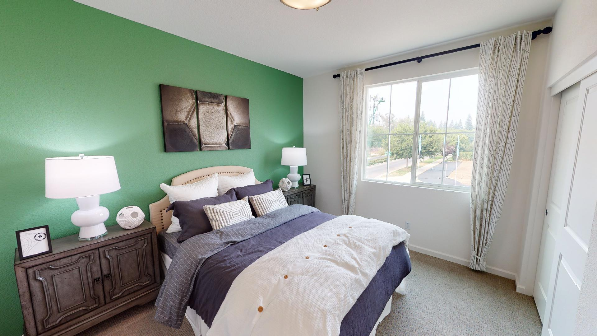 Bedroom featured in the Residence Three By Bright Homes in Merced, CA