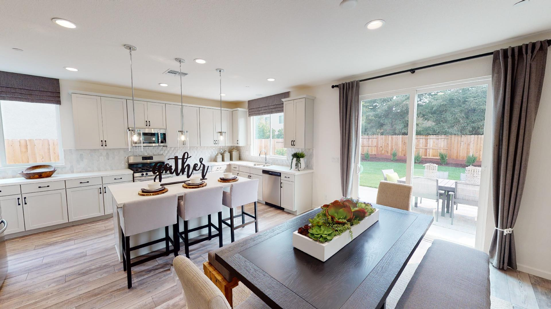 Living Area featured in the Residence Three By Bright Homes in Merced, CA