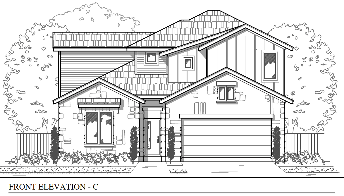 Brohn Homes New Home Plans in Manor TX | NewHomeSource