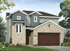 Plan 2072 - Cross Creek: Cedar Park, Texas - Brohn Homes