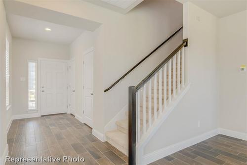 Stairway-in-1782-at-Siena - Patio Homes-in-Round Rock