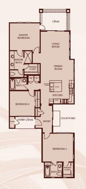 Plan 4 Hoku:Floor Plan