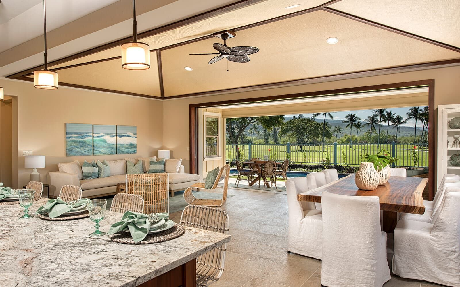 Living Area featured in the Ehukai Plan 3 By Brookfield Residential in Hawaii Island, HI