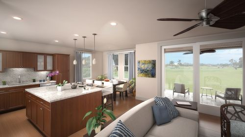 Greatroom-and-Dining-in-Plan 5 Honua-at-PiliMai at Poipu-in-Koloa