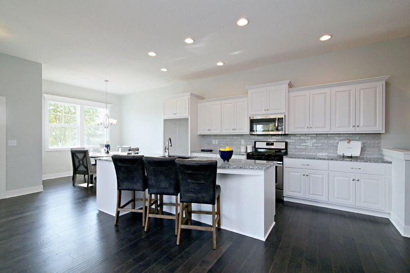 Kitchen featured in the Villa 2 By Brookfield Residential  in Kansas City, MO