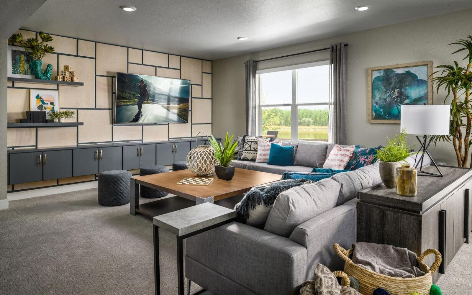 Living Area featured in the Ovation 3 By Brookfield Residential  in Boulder-Longmont, CO